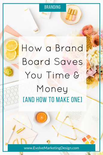 How a Brand Board Saves You Time and Money