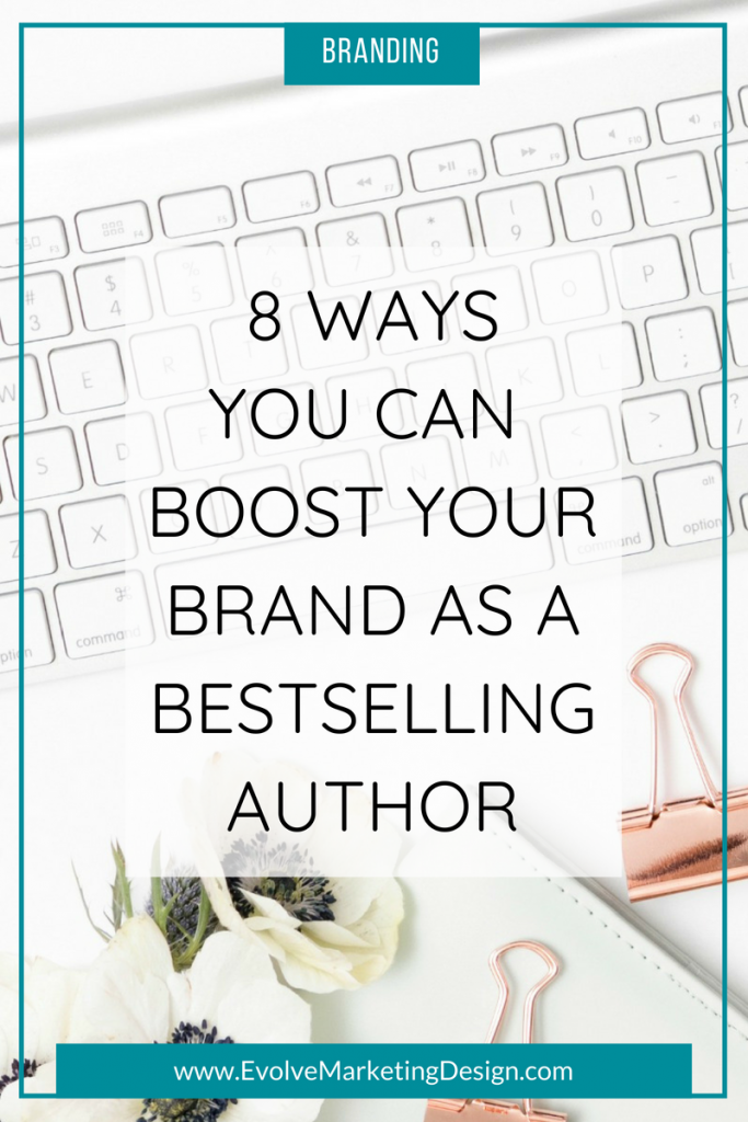 One of the best things you can for brand is to become a bestselling author.