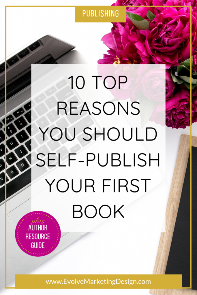 Self-publishing is the easiest - and professional - way to publish your first book.