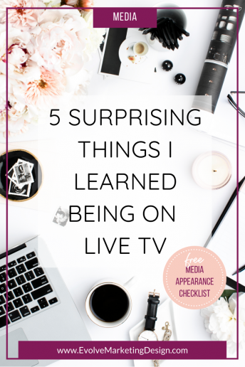 5 Surprising Things I Learned Being on Live TV