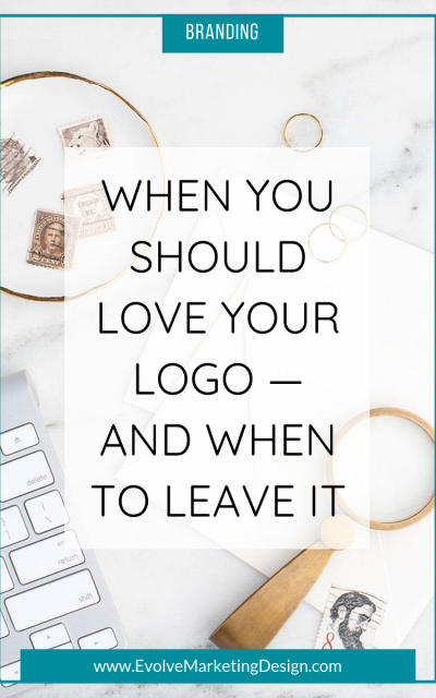 When You Should Love Your Logo—and When to Leave It