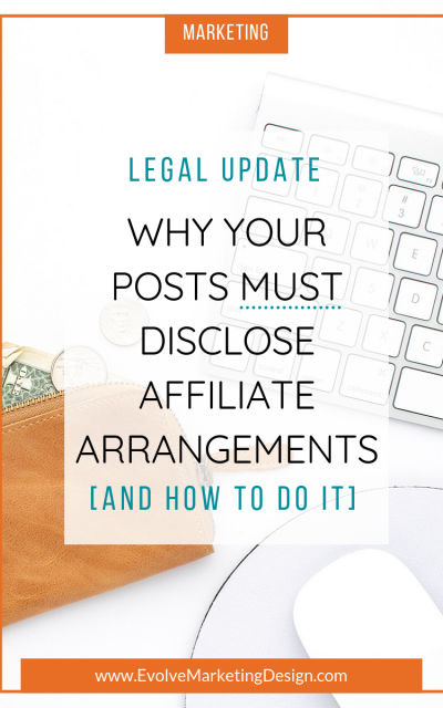 Why Your Posts Must Disclose Affiliate Arrangements
